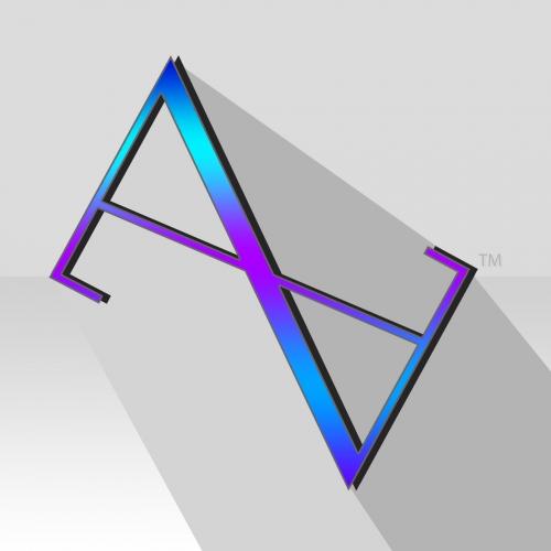 Astrid Medina. - Modern Clothing Line Logo.
